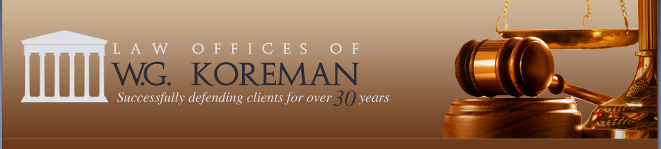W.G. Koreman | Criminal Defense Attorney | Ft. Lauderdale, FL