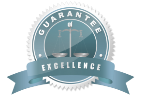 Criminal Defense Attorney Guarantee of Excellence